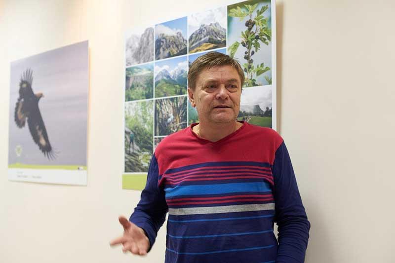Vasilije Bušković, biolog