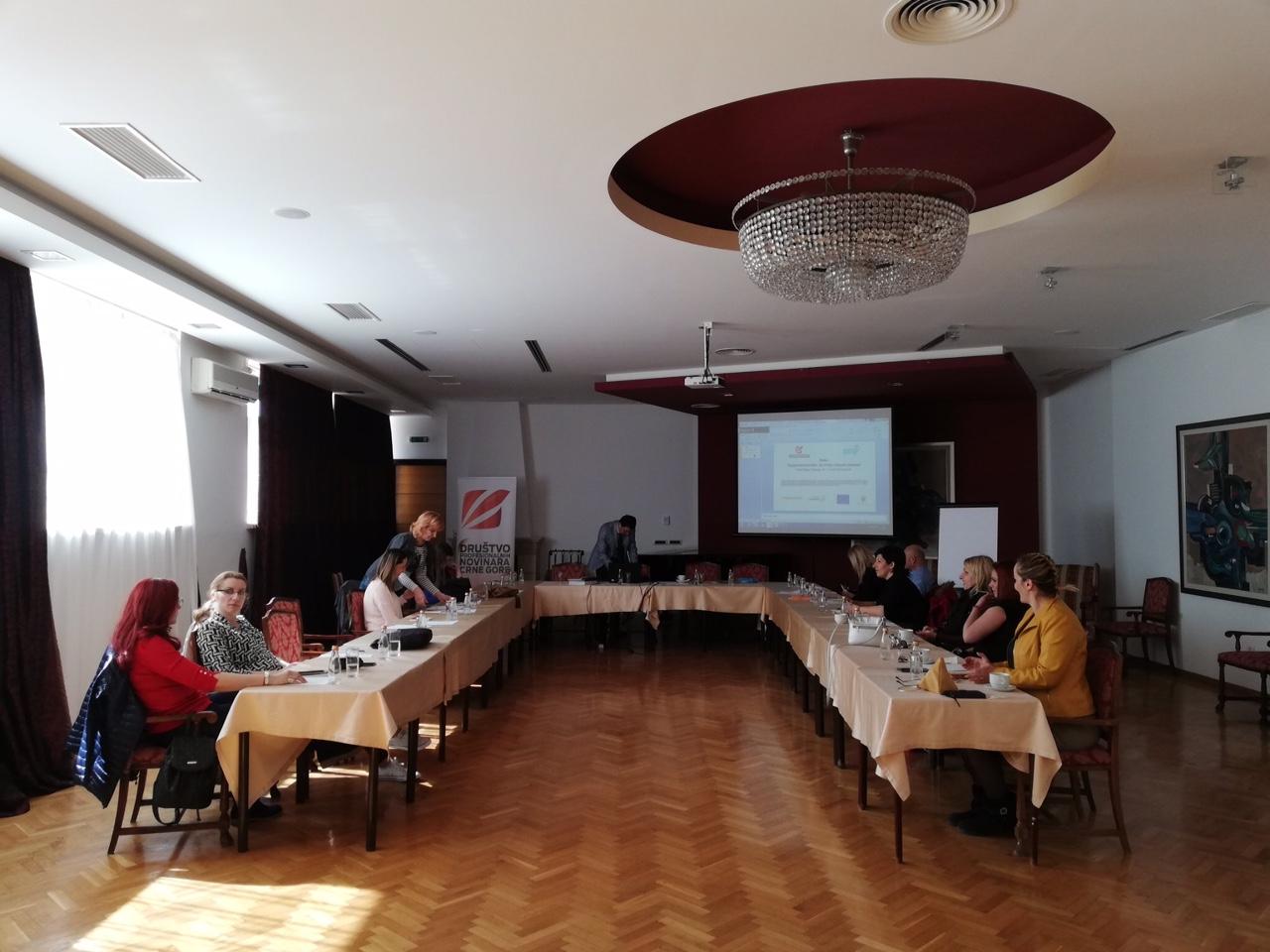 Društvo profesionalnih novinara Crne Gore